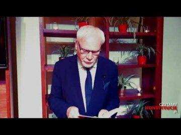 Artykuł 130 czyta prof. Marek Safjan