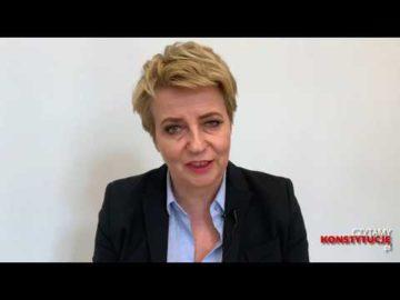 Artykuł 166 czyta Hanna Zdanowska
