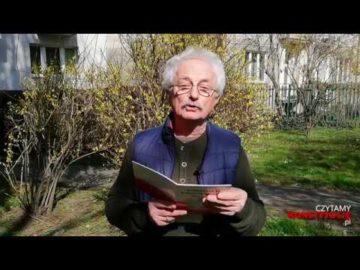 Artykuł 133 czyta Tadeusz Kwinta