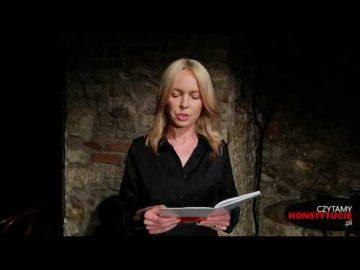Artykuł 242 czyta Katarzyna Tlałka