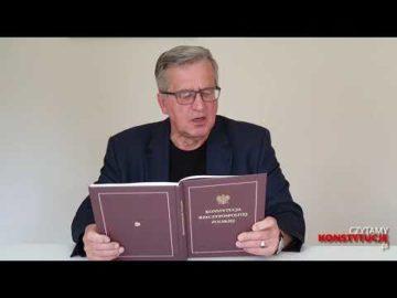 Preambuła cz. 2 czyta prez. Bronisław Komorowski
