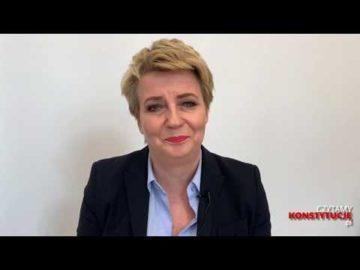 Artykuł 168 czyta Hanna Zdanowska