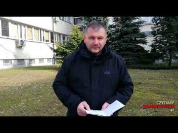 Artykuł 173 czyta Waldemar Żurek