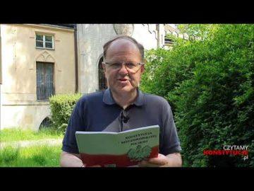 Artykuł 104 czyta ks. Kazimierz Sowa