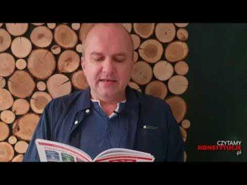 Artykuł 120 czyta Mirosław Michalski