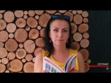 Artykuł 153 czyta Małgorzata Michalska
