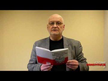Artykuł 204 czyta Jacek Rakowiecki