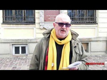 Artykuł 218 czyta Witold Bereś