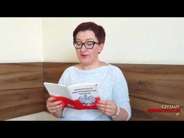 Artykuł 107 czyta Monika Szafraniec