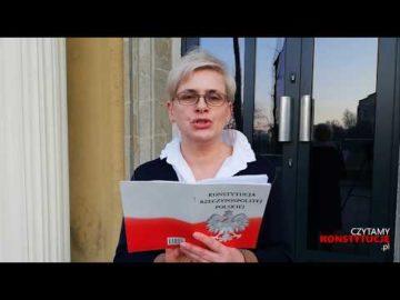 Artykuł 234 czyta Jagoda Pietruszkówna