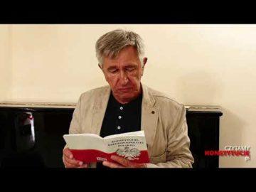 Artykuł 144 czyta Jerzy Radziwiłowicz