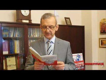 Artykuł 059 czyta Sławomir Broniarz