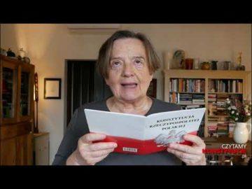 Artykuł 053 czyta Agnieszka Holland