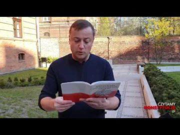 Artykuł 148 czyta Czesław Mozil