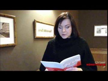 Artykuł 161 czyta Gabriela Lazarek