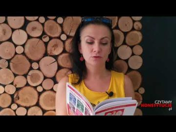 Artykuł 152 czyta Małgorzata Michalska