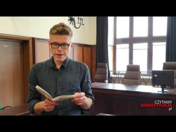 Artykuł 180 czyta Igor Tuleya