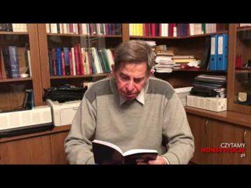 Artykuł 200 czyta prof. Andrzej Zoll