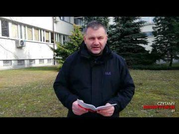 Artykuł 176 czyta Waldemar Żurek