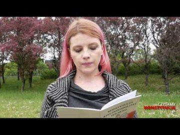 Artykuł 221 czyta Karolina Nolbrzak