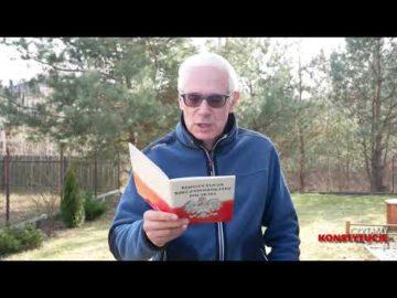 Artykuł 154 czyta Konrad Szołajski