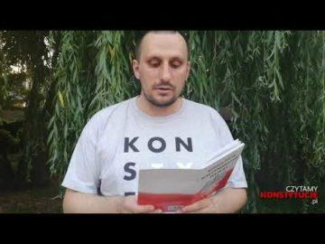 Artykuł 243 czyta Sławomir Majdański