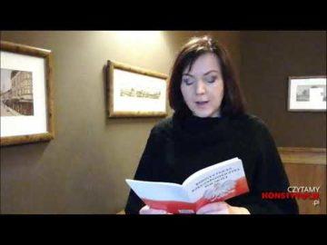 Artykuł 160 czyta Gabriela Lazarek
