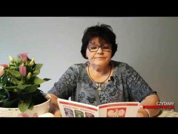 Artykuł 010 czyta Elżbieta Adamiak