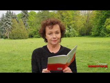 Artykuł 054 czyta Joanna Szczepkowska