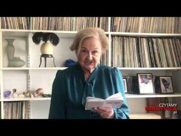 Artykuł 079 czyta prof. Ewa Łętowska