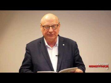 Artykuł 103 czyta Krzysztof Parchimowicz