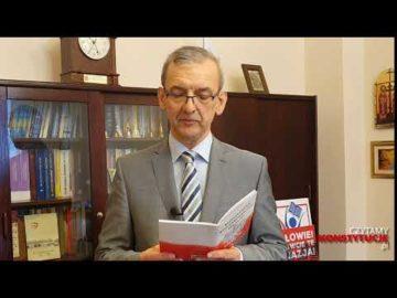 Artykuł 060 czyta Sławomir Broniarz