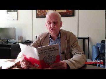 Artykuł 150 czyta prof. Andrzej Friszke