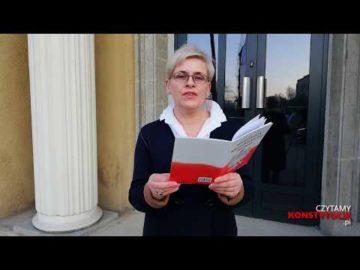Artykuł 233 czyta Jagoda Pietruszkówna