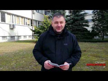Artykuł 175 czyta Waldemar Żurek