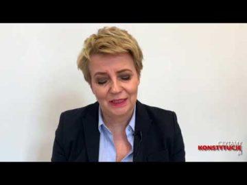 Artykuł 167 czyta Hanna Zdanowska