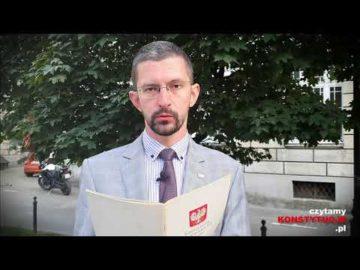 Artykuł 030 czyta dr Andrzej Kompa