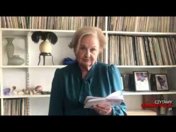 Artykuł 081 czyta prof. Ewa Łętowska