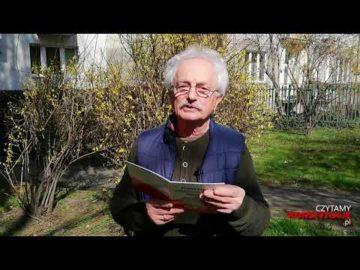 Artykuł 132 czyta Tadeusz Kwinta