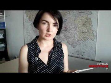 Artykuł 138 czyta Ewelina Pytel