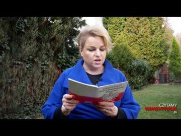 Artykuł 019 czyta Katarzyna Bosacka