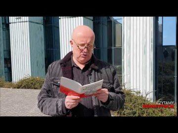 Artykuł 182 czyta Piotr Bukartyk