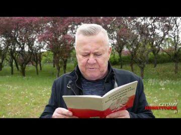 Artykuł 123 czyta Włodzimierz Matuszak