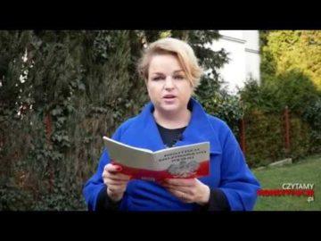 Artykuł 021 czyta Katarzyna Bosacka
